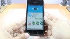 Skype install Samsung GALAXY S Advance