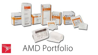 AMD Antimicrobial Dressings with PHMB
