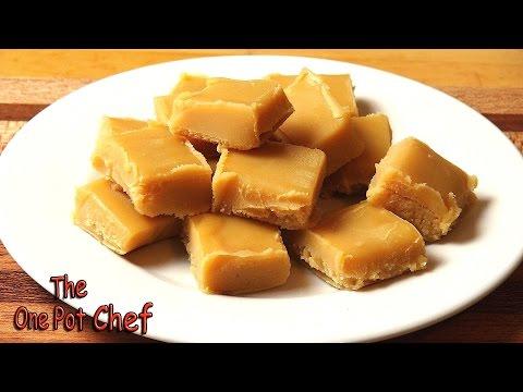 Peanut Butter Freezer Fudge   One Pot Chef