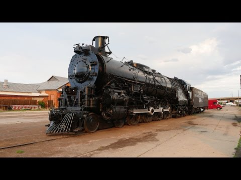 Santa Fe Steam Locomotive 2912