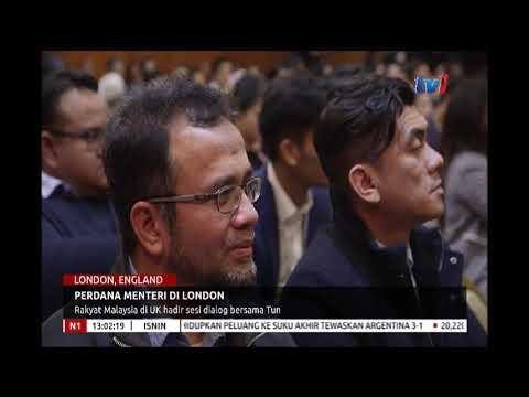 PERDANA MENTERI DI LONDON - RAKYAT MALAYSIA DI UK HADIR SESI DIALOG BERSAMA TUN [24 SEPT 2018]