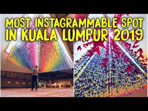 2019 MOST INSTAGRAMMABLE SPOT IN KUALA LUMPUR