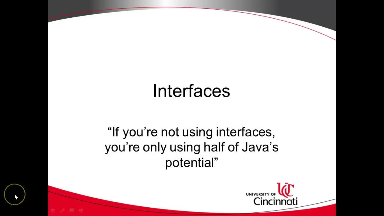 Overview of Interfaces in Java, UML Class diagram - YouTube