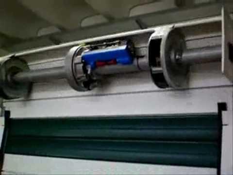Schema Elettrico Motore Serranda : Dieffe matic ingressi automatici automazione per serranda youtube