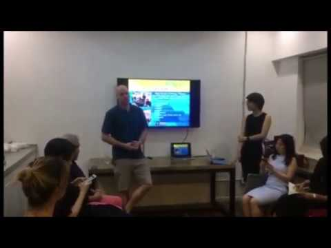 """""""How to Outsmart Your Stress"""" Workshop at FitSpace Shanghai"""