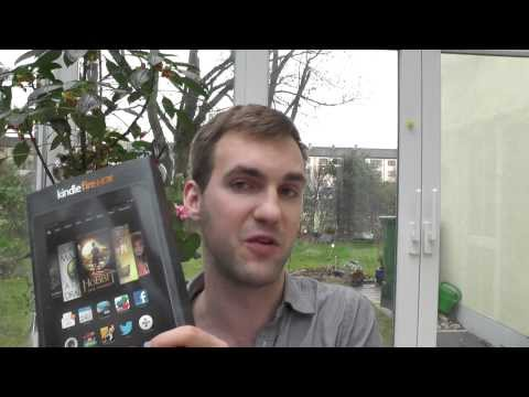 Amazon Kindle Fire HDX 8.9 im Unboxing [Deutsch]