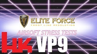 DROP TEST H&K VP9 Quality Control - Elite Force Airsoft
