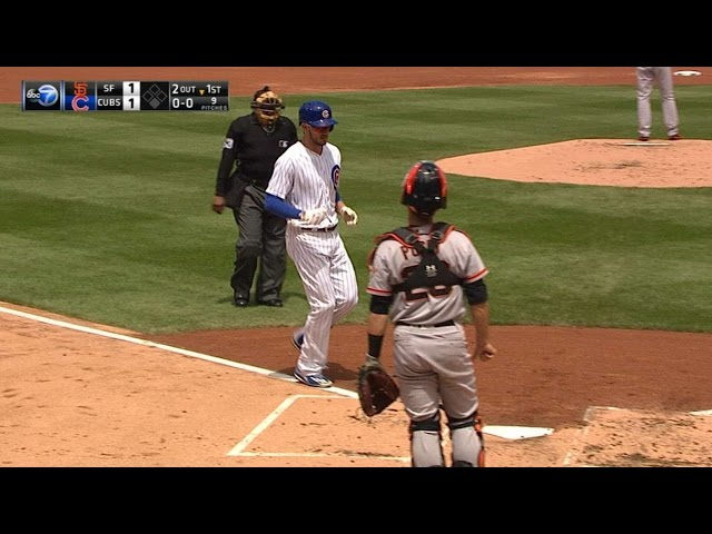 5/25/17: Cubs hit three homers in 5-1 win over Giants
