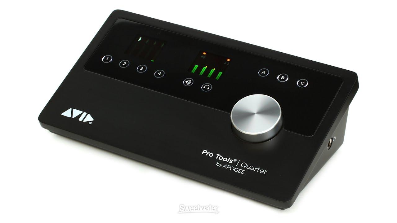 Audio/midi Interfaces Avid Protools Quartet