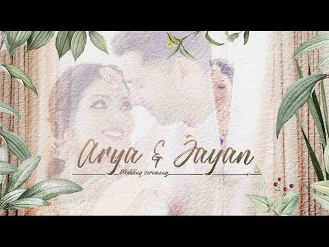 A Wonderful Romantic Tale Of Arya And Jayan