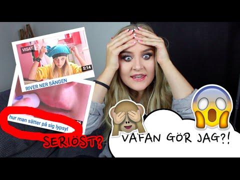 Reagerar till min gamla kanal 2012!!
