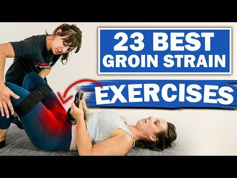 23 Best Groin Pain Exercises