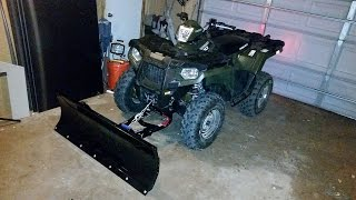 Polaris Glacier Pro Plow Review and Warning!