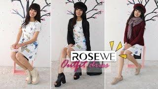 Cómo combinar vestido estampado  | Rosewe