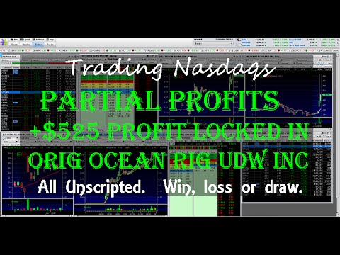 Trading Nasdaq's Hottest Penny Stocks Right Now Like ORIG (Ocean RIg Udw) VBLT (Vascular Biogenics)