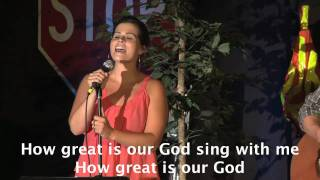 Christian Artist How Great Is Our God With
