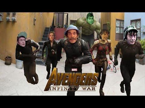 El Chavo Infinity War / Parodia Avengers Infinity War