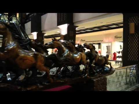 Wooden Horses at Saga World in Dubai. 18.09.2014