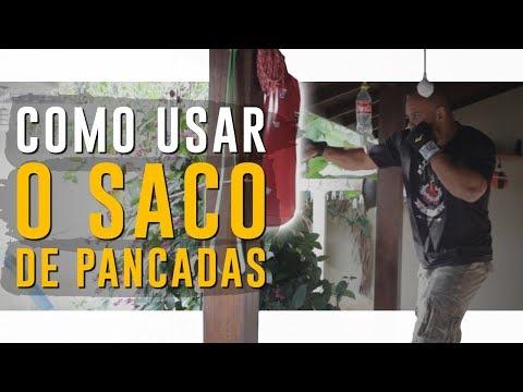 COMO USAR O SACO DE PANCADAS  👊 BOXE  Dica de Treino