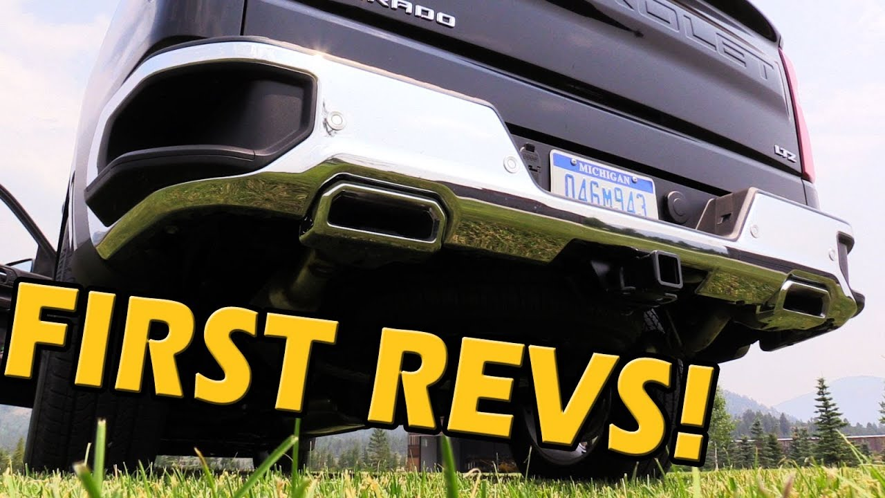 first look 2019 silverado exhaust sounds truck central