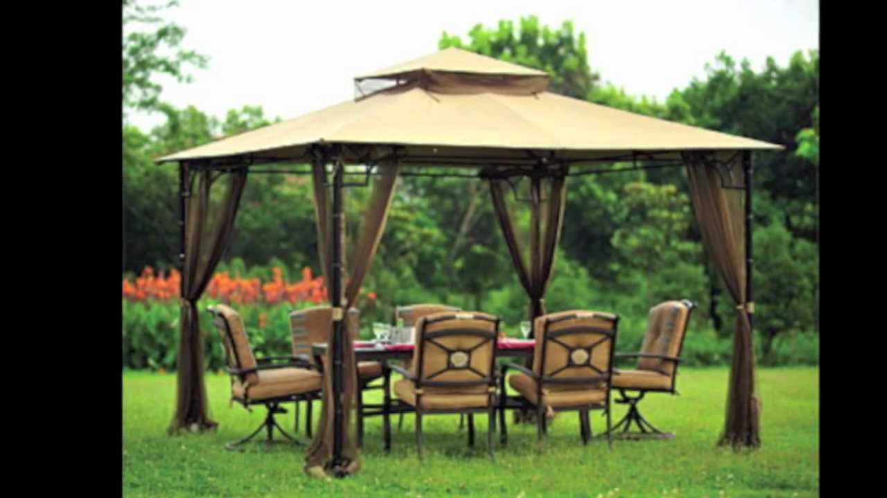 & Replacement Canopy for Big Lots Bamboo Look Gazebo - YouTube