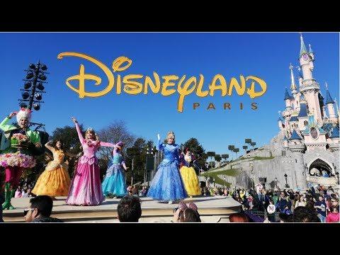 Disneyland Paris Day One Vlog February 2019 Youtube