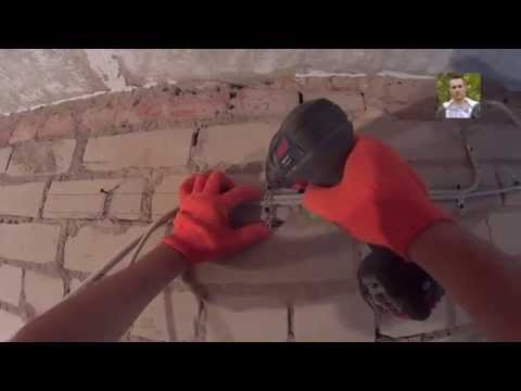 Монтаж электропроводки ЧАСТЬ 1 | Электропроводка в квартире