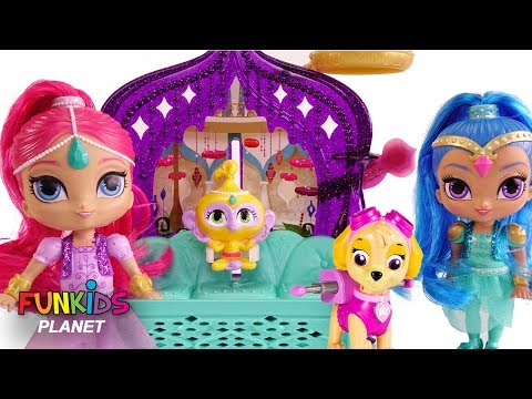 Thumbnail: Learn Colors Videos for Kids; Paw Patrol With Shimmer and Shine Bedtime Routine