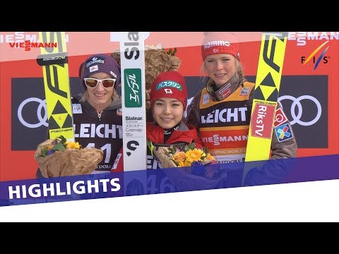 Sara Takanashi wins in Oberstdorf to end season on a high note | Highlights