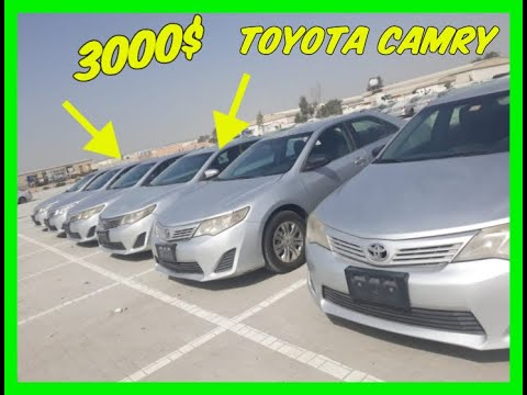 Toyota Camry за 3000$?