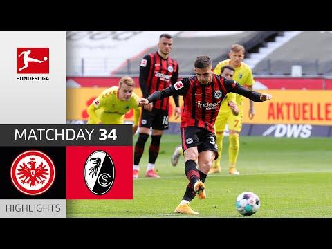 Eintracht  Frankfurt Freiburg Goals And Highlights