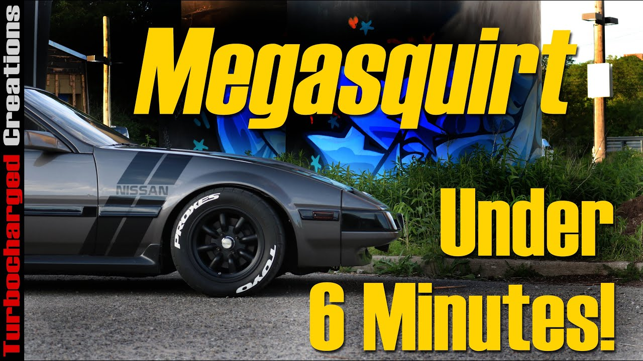 How to Megasquirt Your Z31 in Under 6 Minutes!