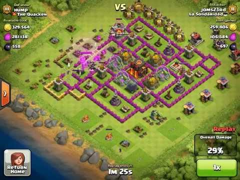 Clash of clans Tier 1 troops Farming