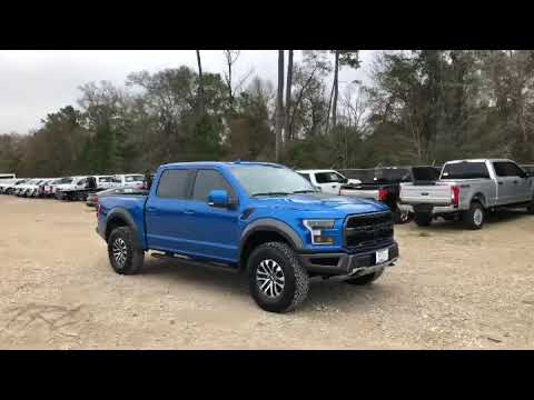 Ford Raptor Velocity Blue