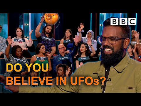 Hilarious comedy panel dispute over UFOs | The Ranganation - BBC