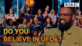 Do you believe in UFOs? | The Ranganation - BBC