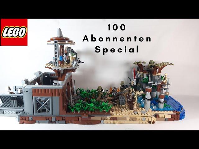 Lego Star Wars MOC auf Kashyyyk - 100 Abonnenten Special