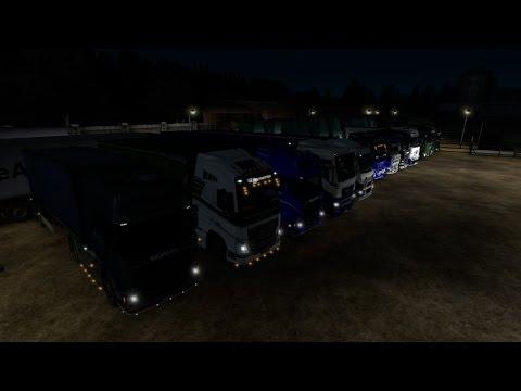Генеральный конвой с Кампаниями DL trans И TRUCK TRANS  26 03 16