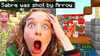 LITTLE SISTER SOCKIE GETS REVENGE in Underground Base Minecraft Ep2 Gaming w/ The Norris Nuts