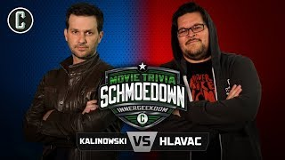 Innergeekdom Tournament! Mike Kalinowski VS Adam Hlavac - Movie Trivia Schmoedown