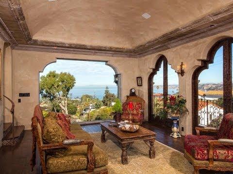 Spanish Colonial Masterpiece in La Jolla, California