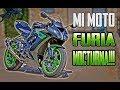 FURIA NOCTURNA !!! KAWASAKI ZX10R CON PIEL DE DRAGÓN - MI NUEVA MOTO !!!