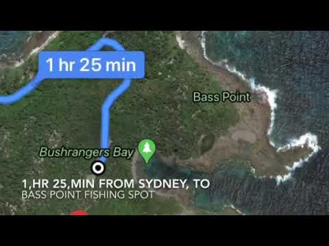 Fishing VLOG Video At Wollongong Bass Point Resource