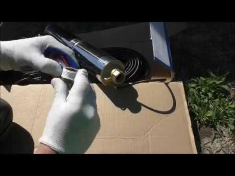 Установка скважинного насоса своими руками видео
