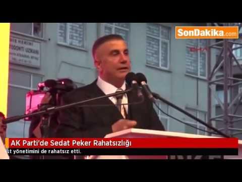 AK Parti'de, Sedat Peker Rahatsızlığı