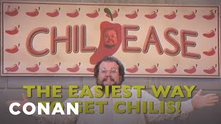 ChilEase: The Easiest Way To Get Chili's!  - CONAN on TBS