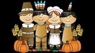 Thanksgiving Kids Song | The Pilgrims and the Indians