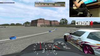 Live for Speed: Tandem Drifting with Clubsport Handbrake (Onboard)