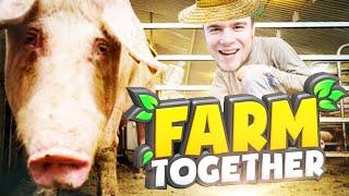 ZAINWESTOWAŁEM W ŚWINIE! | Farm Together [#4] (With: Dobrodziej)