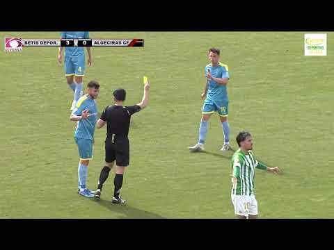 El Algeciras CF se trae tres goles contra un Betis Deportivo muy superior